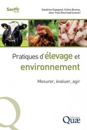 Pratiques d'élevage et environnement - quae - 9782759230617 -
