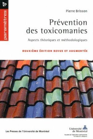 Prévention des toxicomanies - presses de l'universite de montréal - 9782760634039 -