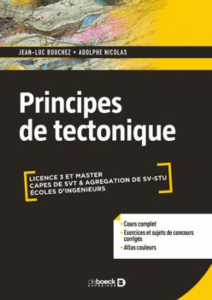 Principes de tectonique - de boeck superieur - 9782807315129 -