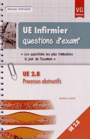 Processus obstructifs UE 2.8 - vernazobres grego - 9782818307311