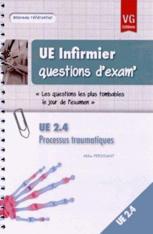 Processus traumatiques UE 2.4 - vernazobres grego - 9782818307748