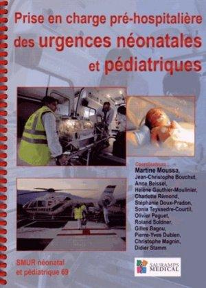 Prise en charge pré-hospitalière des urgences néonatales et pédiatriques - sauramps medical - 9782840239826 -