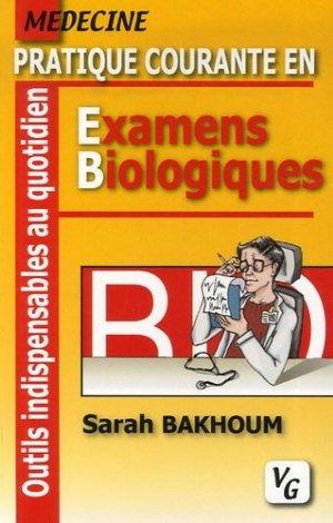 Pratique courante en examens biologiques - vernazobres grego - 9782841366651 -
