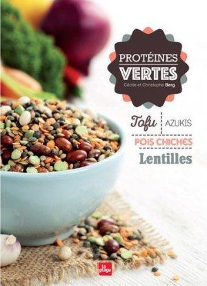 Protéines vertes - la plage - 9782842215187 -
