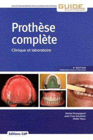 Prothèse complète - cdp - 9782843611704 -