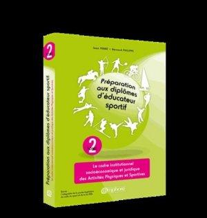 Préparation aux diplômes d'éducateur sportif  - Tome 2-amphora-9782851809452