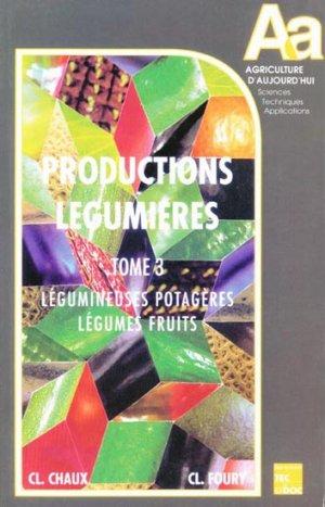 Productions légumièresTome 3 - lavoisier / tec et doc - 9782852069756 -