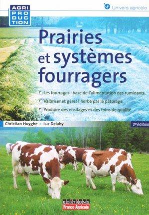 Prairie et systèmes fourragers - france agricole - 9782855572451 -