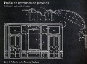 Profils de corniches de plafonds - du patrimoine - 9782858224982 -