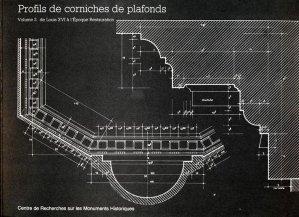 Profils de corniches de plafonds - Vol 2 - centre de recherches sur les monuments historiques - 9782858224999 -