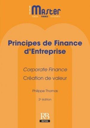 Principes de finance d'entreprise - La Revue Banque - 9782863258521 -