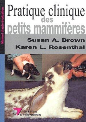 Pratique clinique des petits mammifères - du point veterinaire - 9782863261774 -
