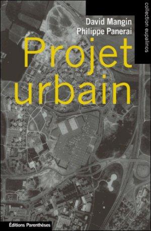 Projet urbain - parentheses - 9782863646045 -