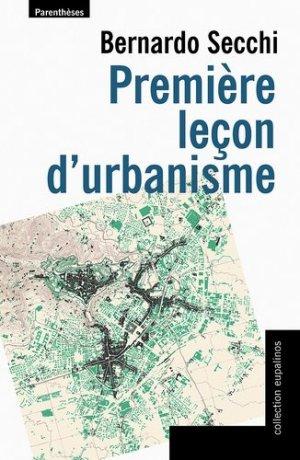 Première leçon d'urbanisme - parentheses - 9782863646359 - https://fr.calameo.com/read/005884018512581343cc0