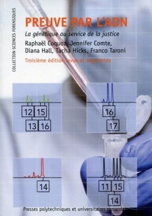 Preuve par l'ADN - presses polytechniques et universitaires romandes - 9782889150069