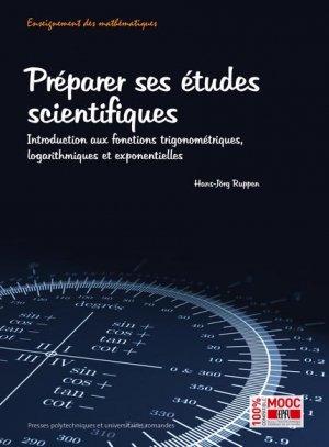 Préparer ses études scientifiques  - presses polytechniques et universitaires romandes - 9782889151271 -