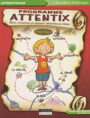 Programme Attentix - Chenelière/McGraw-Hill - 9782894615850 -