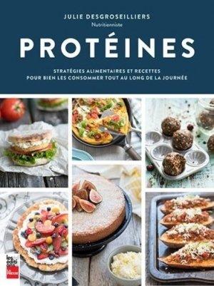 Protéines - la presse - 9782897055325 -