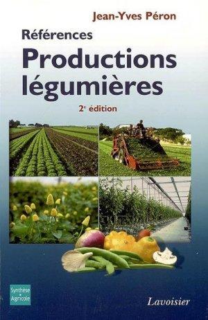 Productions légumières - synthèse agricole / lavoisier - 9782910340483 -