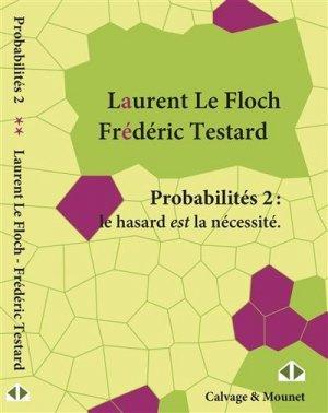 Probabilités II - calvage et mounet - 9782916352749 -