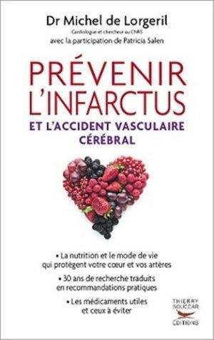 Prévenir l'infarctus et l'accident vasculaire cérébral - thierry souccar - 9782916878881 -