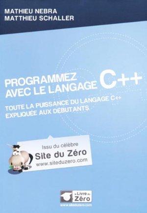 Programmez avec le langage C+  - simple it - 9782953527858 -