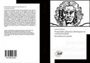 Propriétés physico-chimiques et caractérisation - presses académiques francophones - 9783838146720 -