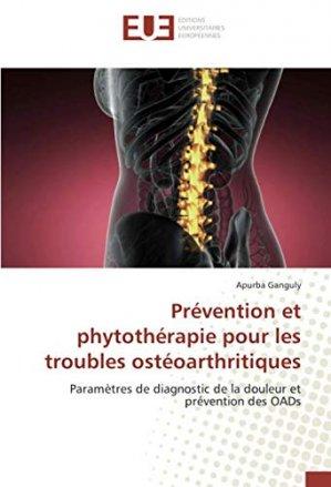 Prévention et phytothérapie pour les troubles ostéoarthritiques - omniscriptum - 9786139536245 -