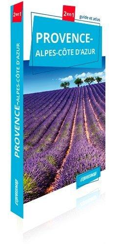 Provence-Alpes-Côte d'Azur. Guide et atlas - Express Map - 9788381900508 -