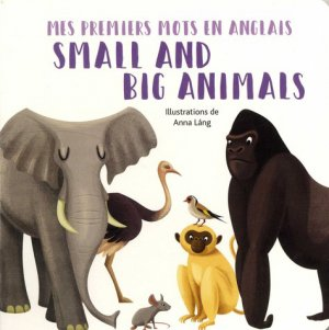 Small and big animals - white star - 9788832911329