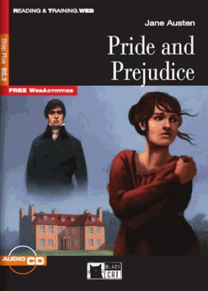 Pride and Prejudice (1CD audio) - black cat - cideb - 9788853007780 -