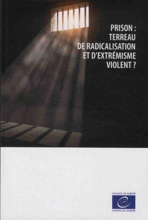 Prison : terreau de radicalisation et d'extrémisme violent ? - Conseil de l'Europe - 9789287185488 -