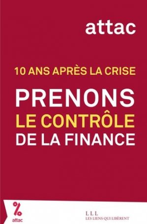 Prenons le contrôle de la finance - les liens qui liberent - 9791020906113 -