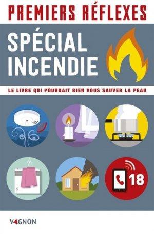 Premiers réflexes spécial incendie - vagnon - 9791027103843 -