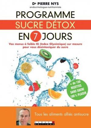 Programme sucre détox en 7 jours - leduc - 9791028501259 -