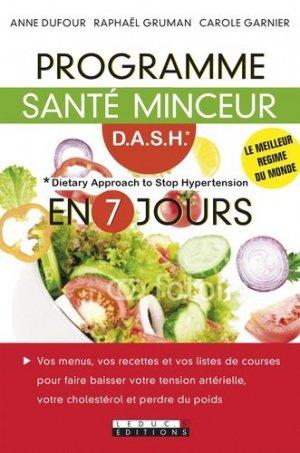 Programme santé D.A.S.H en 7 jours - leduc - 9791028502508 -