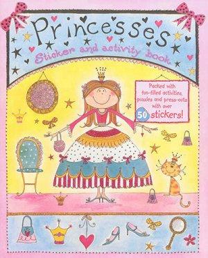 PRINCESSES STICKER AND ACTIVITY BOOK  - de l'imprevu - 9791029500688 -