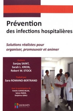 Prévention des infections hospitalières - sauramps medical - 9791030301359 -
