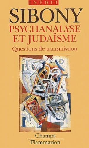 Psychanalyse et judaïsme - flammarion - 9782080800152 -