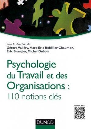 Psychologie du travail et des organisations - dunod - 9782100738113 -