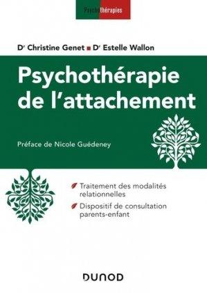 Psychothérapie de l'attachement - dunod - 9782100788040 -