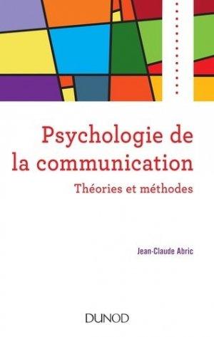 Psychologie de la communication - dunod - 9782100790937 -
