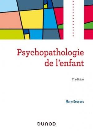 Psychopathologie de l'enfant - dunod - 9782100799091 -