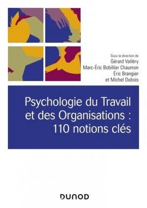 Psychologie du travail et des organisations - dunod - 9782100801411 -