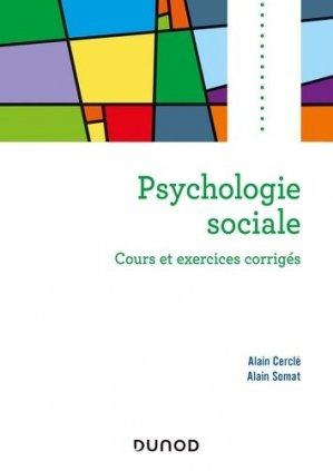 Psychologie sociale - Dunod - 9782100812967 -