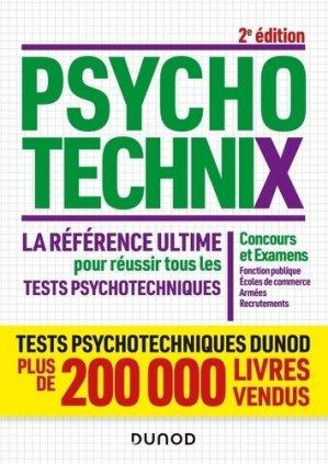 PsychotechniX. La référence ultime pour réussir tous les tests psychotechniques - Dunod - 9782100823871 -