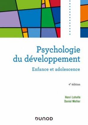 Psychologie du développement - Dunod - 9782100824076 -