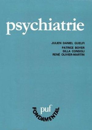 Psychiatrie. 8e édition - puf - presses universitaires de france - 9782130456513 -