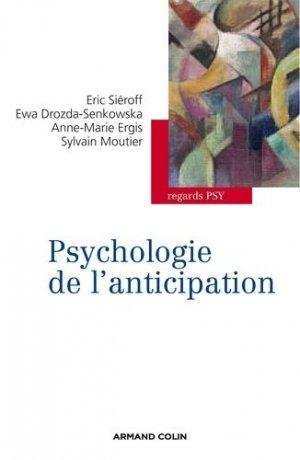 Psychologie de l'anticipation - armand colin - 9782200287740 -