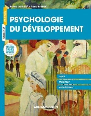 Psychologie du développement - armand colin - 9782200619770 -